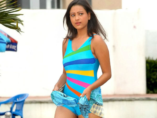 Madalsa Sharma In Swimsuit
