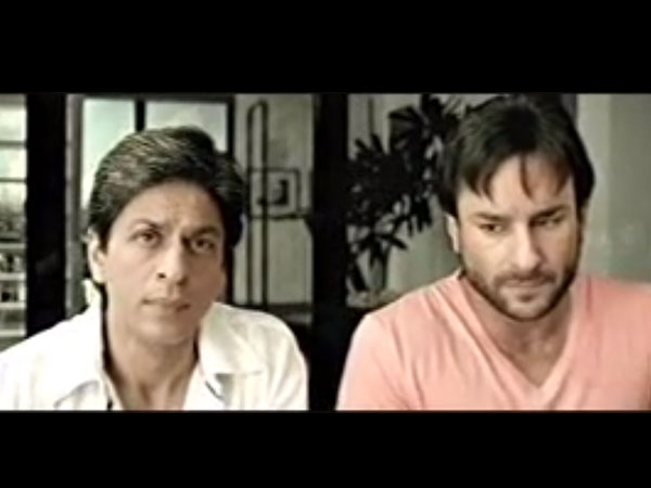 Saif, SRK and Kareena Airtel Ad