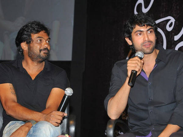 Rana Daggubati and Puri Jagannath
