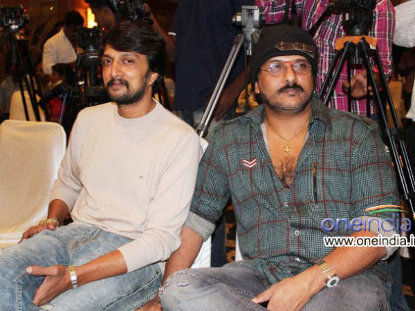 Ravi Did The Film For Sudeep