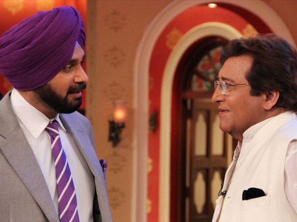 Navjot Singh Sidhu With Mr.Khanna