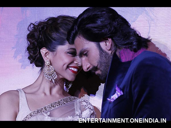 Deepika Ranveer's Cosy Moments In Pics