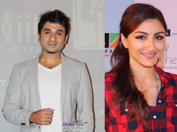 Soha Ali Khan and Vir Das