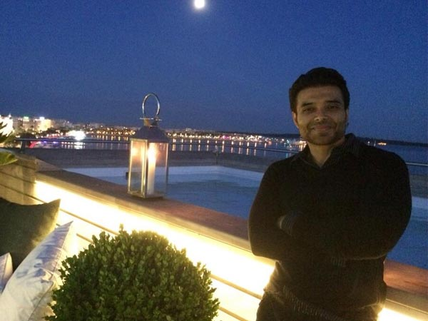 Uday Chopra at Cannes 2014