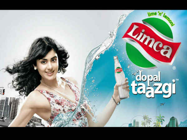 Adah Sharma In Limca Ad
