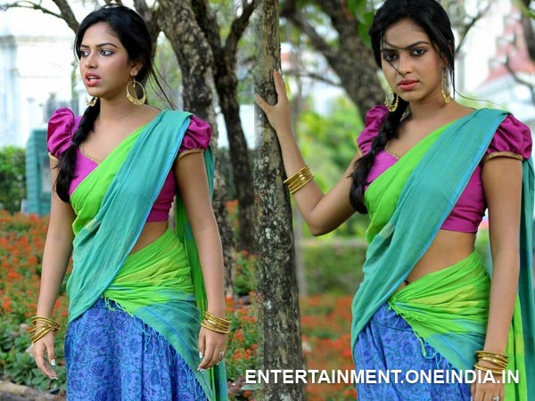 Amala Paul In Half Saree