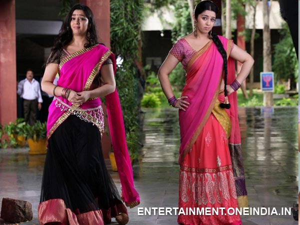 Charmi Kaur In Half Saree