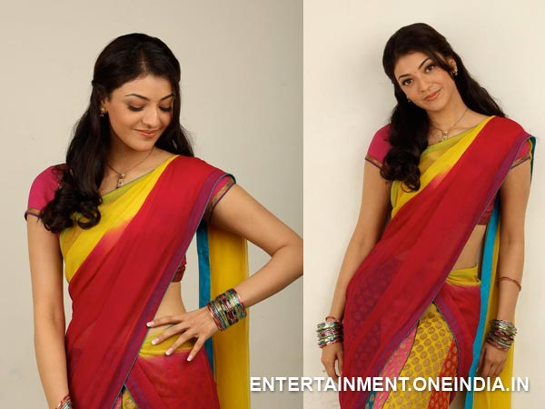 Kajal Aggarwal In Half Saree