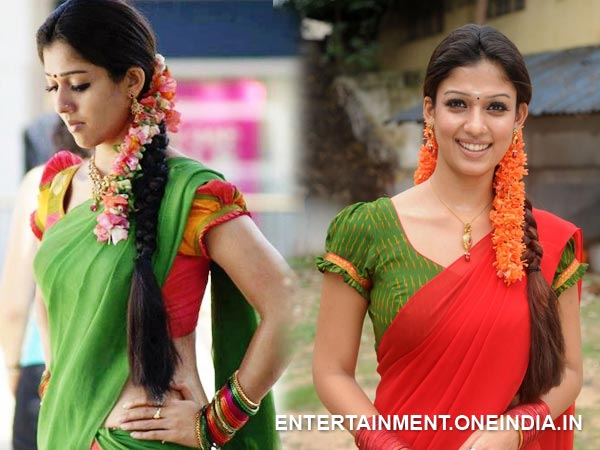 Nayantara In Half Saree