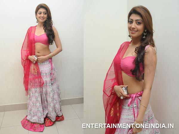Pranitha In Half Saree