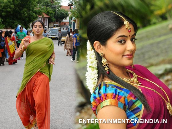 Priyamani In Half Saree