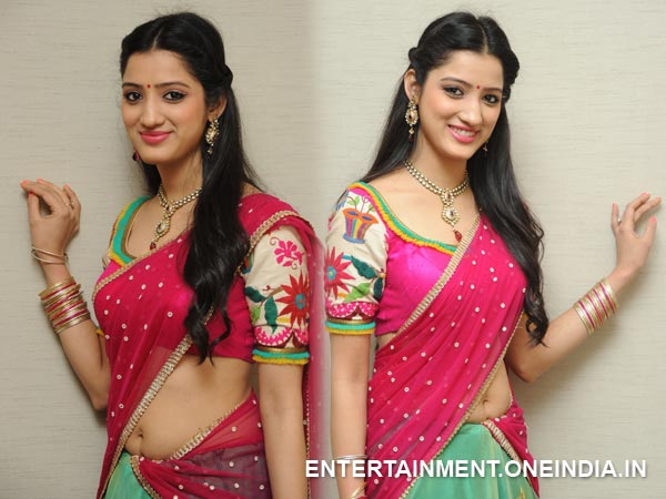 Richa Panai In Half Saree