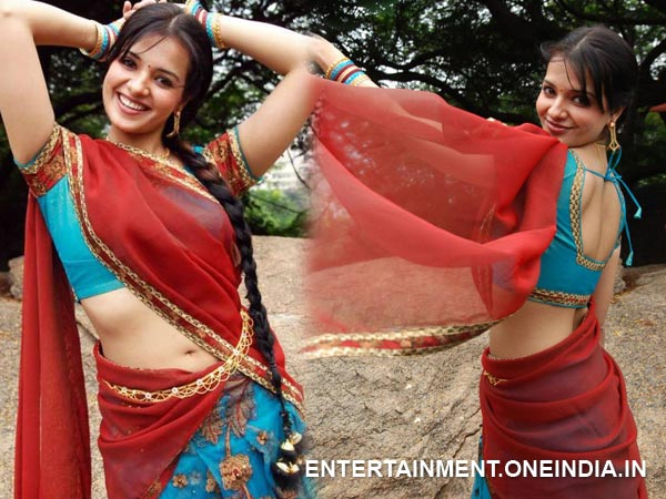 Saloni In Half Saree