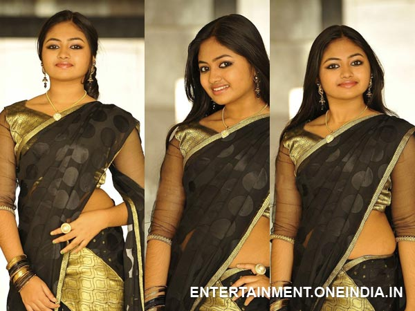 Shaalin In Half Saree