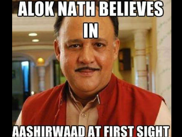 Exaggeration Of Alok Nath's Image