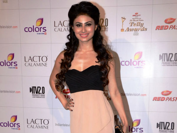 Mouni Roy Down With Chicken Pox
