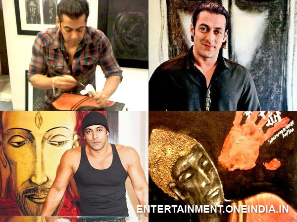 Salman Khan: Painting