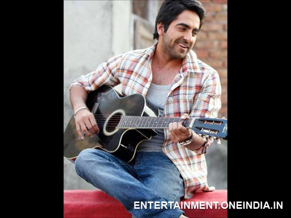 Ayushmann Khurana: Singing, playing the guitar and penning song lyrics