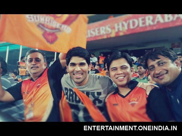 Allu Sirish At IPL Match