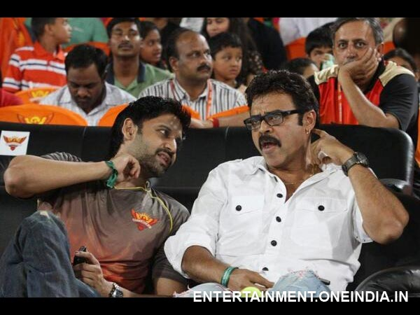 Venkatesh-Sumant's Bonding At IPL 6 Match