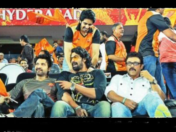 Daggubati Family At IPL 6 Match