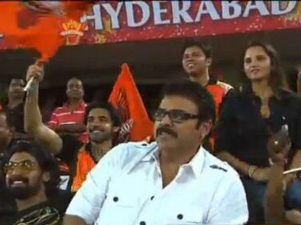 Sania Mirza At IPL 6 Match