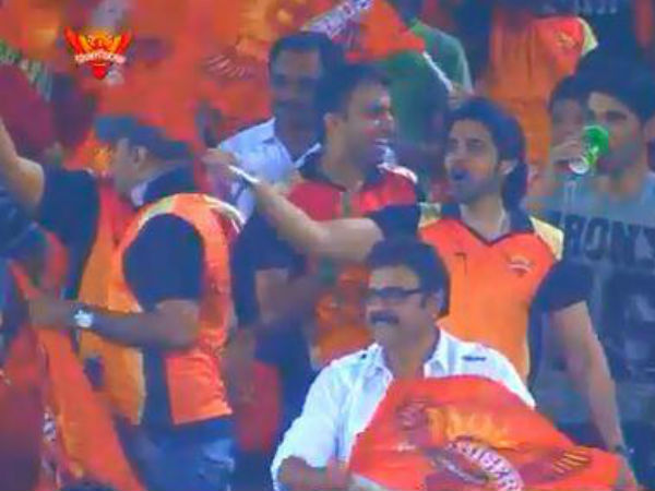 Sushanth At IPL 6 Match
