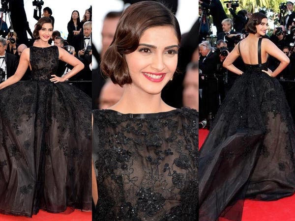 Cannes 2014: Sonam Kapoor At The Homesman Premiere