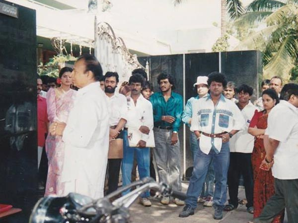 Annavru On The Sets
