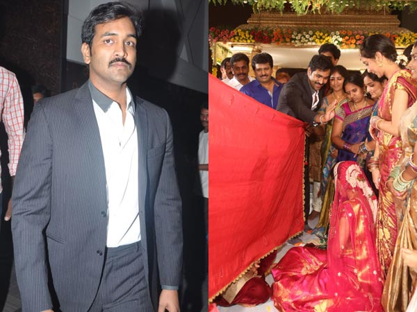 Manchu Vishnu At Sivaji Raja's Daughter's Wedding
