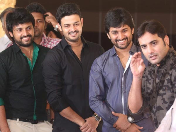Nani, Tarun At Sivaji Raja's Daughter's Wedding