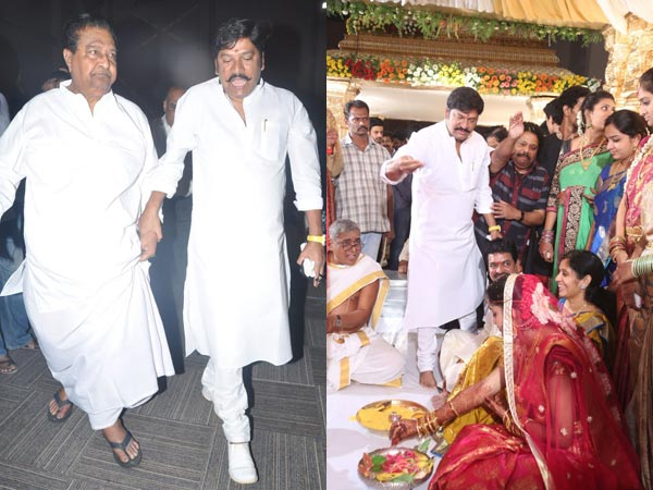 Rajendra Prasad At Sivaji Raja's Daughter's Wedding