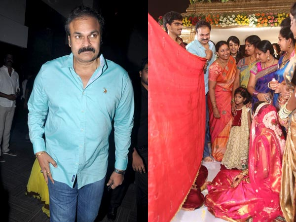 Nagababu At Sivaji Raja's Daughter's Wedding
