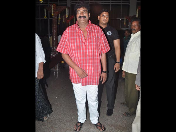 Raghu Babu At Sivaji Raja's Daughter's Wedding