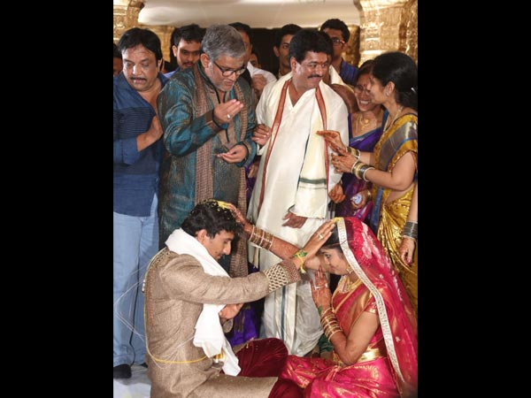 Tanikella Bharani At Sivaji Raja's Daughter's Wedding