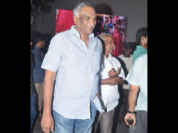 Tammareddy At Sivaji Raja's Daughter's Wedding