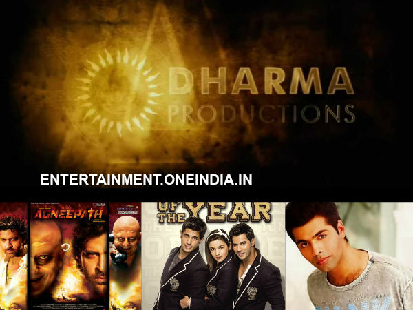Producer, Dharma Productions