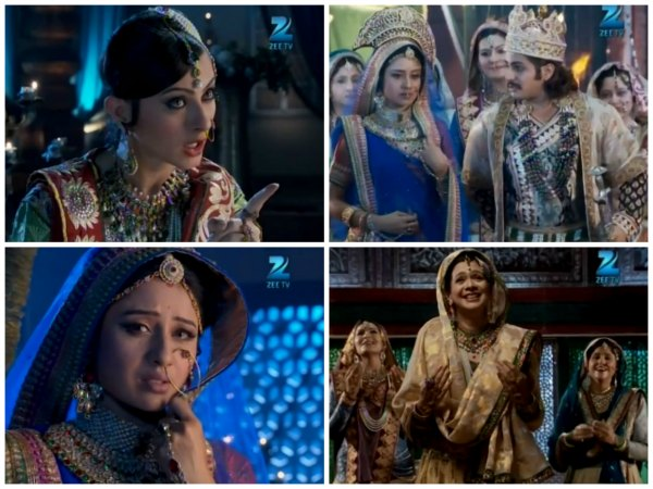 Jodha And Jalal's First Wedding Anniversary