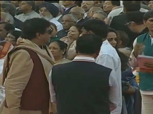 Shatrughan Sinha At Narendra Modi's Swearing In Ceremony