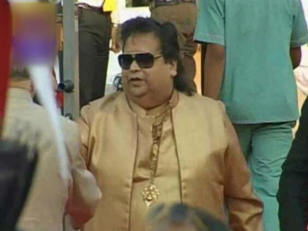 Bappi Lahiri At Narendra Modi's Swearing In Ceremony