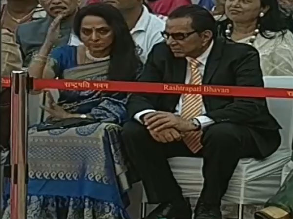 Hema Malini, Dharmendra At Narendra Modi's Swearing In Ceremony