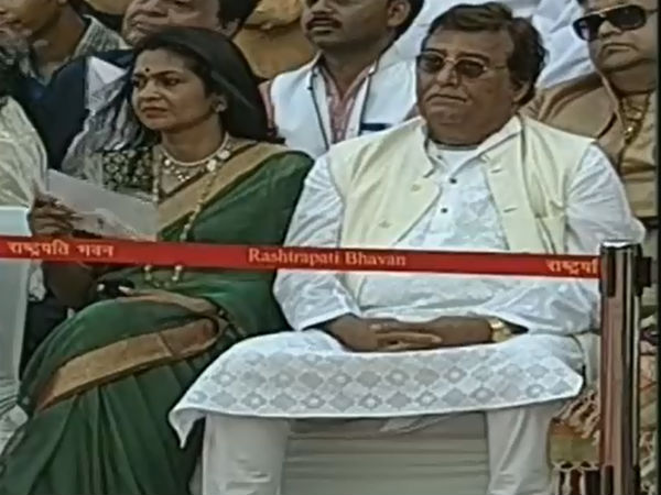 Vinod Khanna At Narendra Modi's Swearing In Ceremony