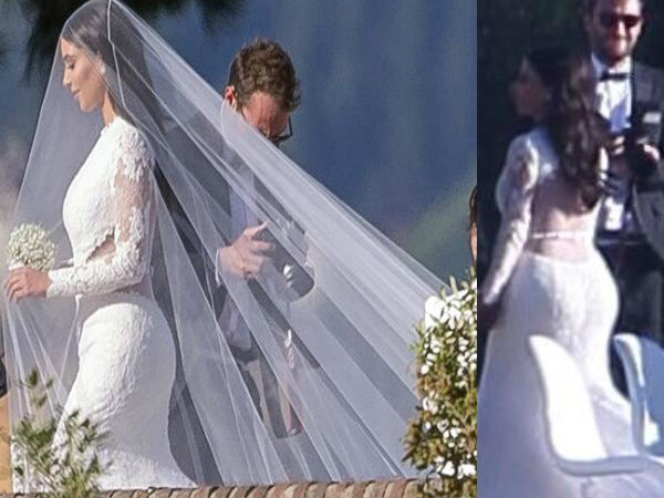 Kim Kardashian Wedding Kanye West