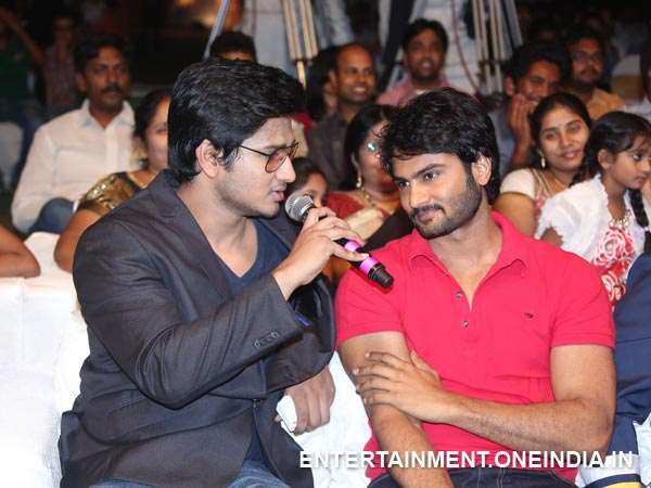 Nikhil Siddhartha's Bonding With Sudheer Babu