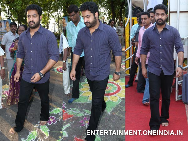 Junior NTR At NT Rama Rao 91st Birth Anniversary