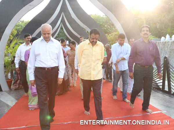 Harikrishna At NT Rama Rao 91st Birth Anniversary