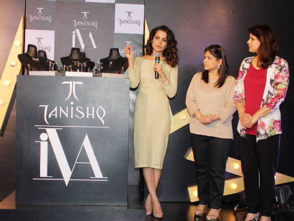 Kangna Talking About the Brand