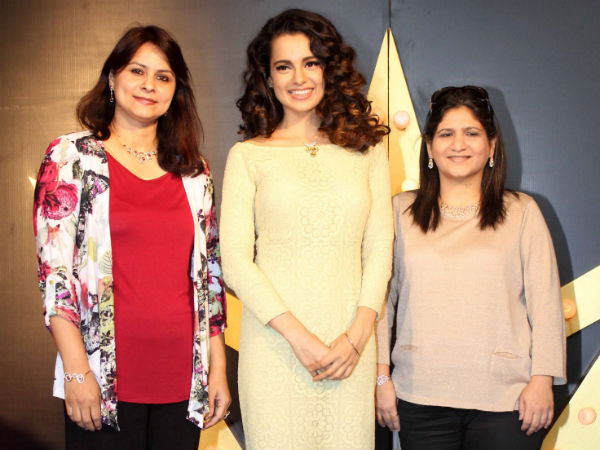 Kangna At The Tanishq Event
