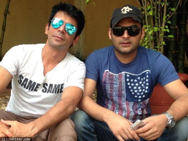 Kapil Sharma With Sunil Grover