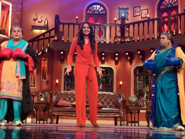 Sonakshi On Comedy Nights